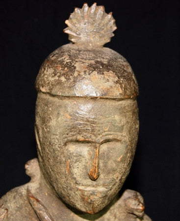 Naga Ancestor Figure - Antique Hardwood Statue