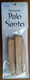 Palo Santo Sticks 3 Pack