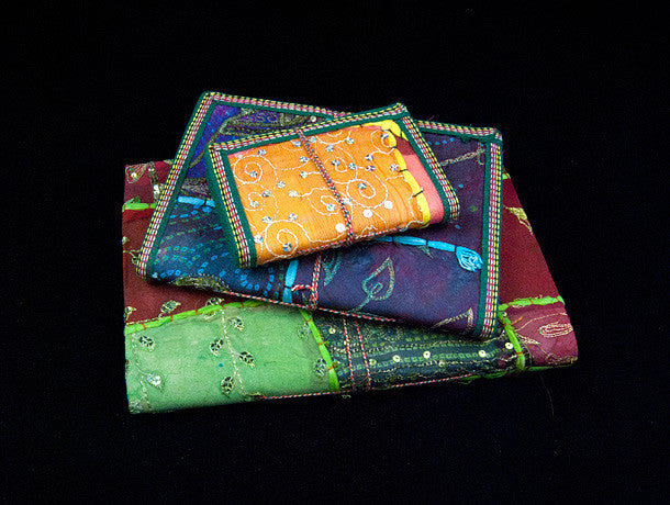 Sari Cover Paper Journal & Notebook