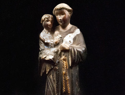 St Anthony and Child Statue