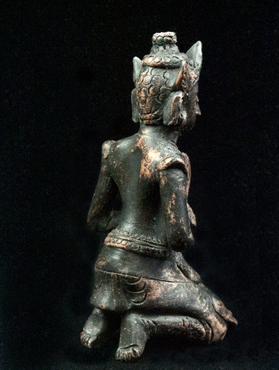 Burmese Lady Dancer Statue