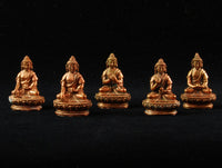 Dhyani Buddha Set in Copper