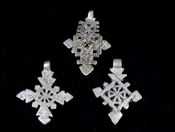 Ethiopian Cross Pendants