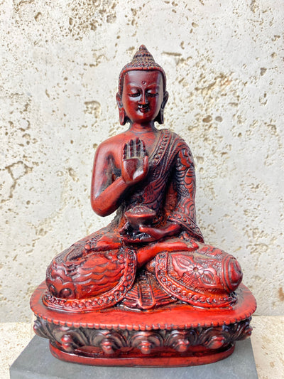 Hand Cast resin buddha statues in medium size