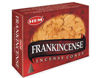Frankincense Hem incense cones pack of ten