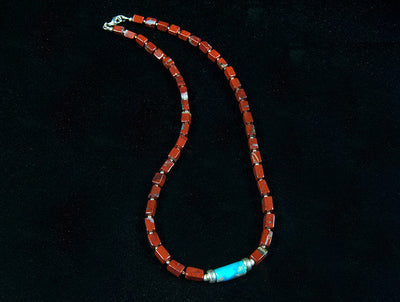 Jasper and Turquoise Necklace