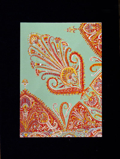 Indian Textile Greeting Cards