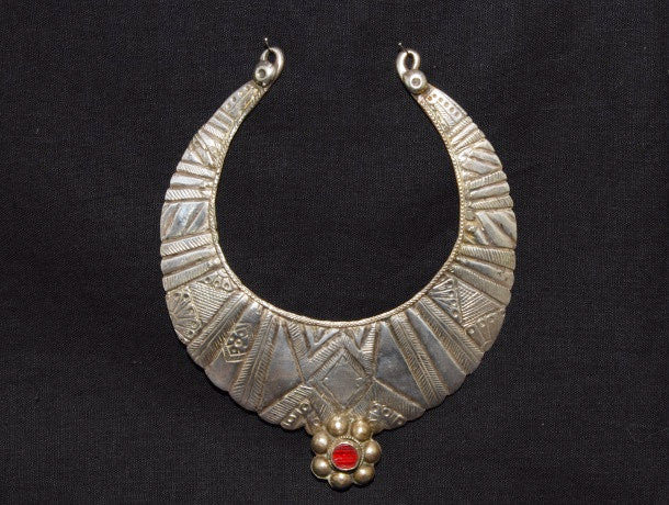 Swat Valley Silver Torc Necklace