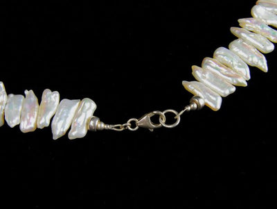Oceana Baroque Pearl Choker Necklace