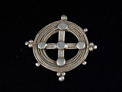 Antique Round Ethiopian Cross