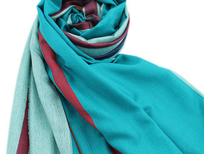 Italian Style Silk and Cashmere Scarf