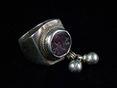 Antique Silver Tribal Ring