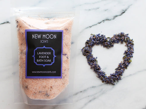 Lavender Foot/Bath Soak