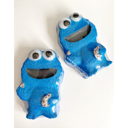 Cookie Monster Bath Bomb