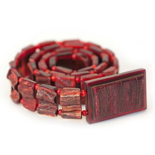Carabao Red Natural Belt