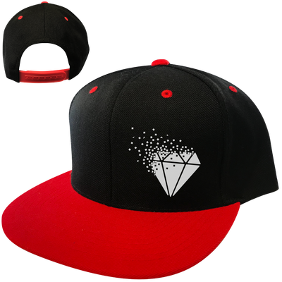 Pixelated Diamond Snapback