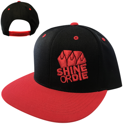 The Red & Black Snapback