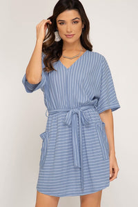Stripe for Days Dress