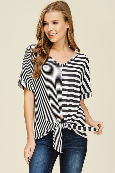 Courtney Contrast Top