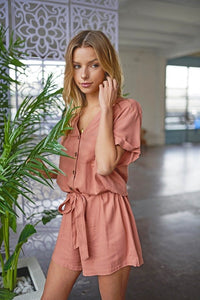 Papaya Romper