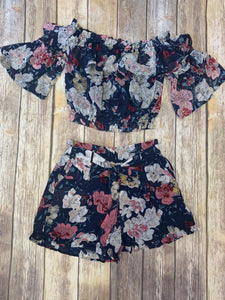 Blair Floral Off-The-Shoulder Top