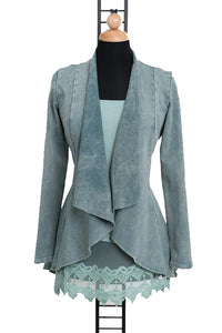 My GO TO Victorian Jacket in Sage