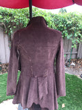 Victorian Jacket in Chocolate Brown