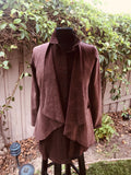 NEW! Victorian Jacket in Chocolate Brown