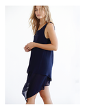 Layered Tank Dress
