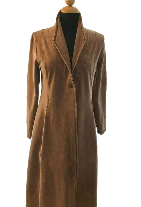 Smoking Jacket in Mocha