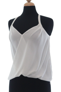 Aruba Overlap Tank Shown in White