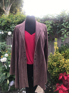 Reba Jacket in Chocolate