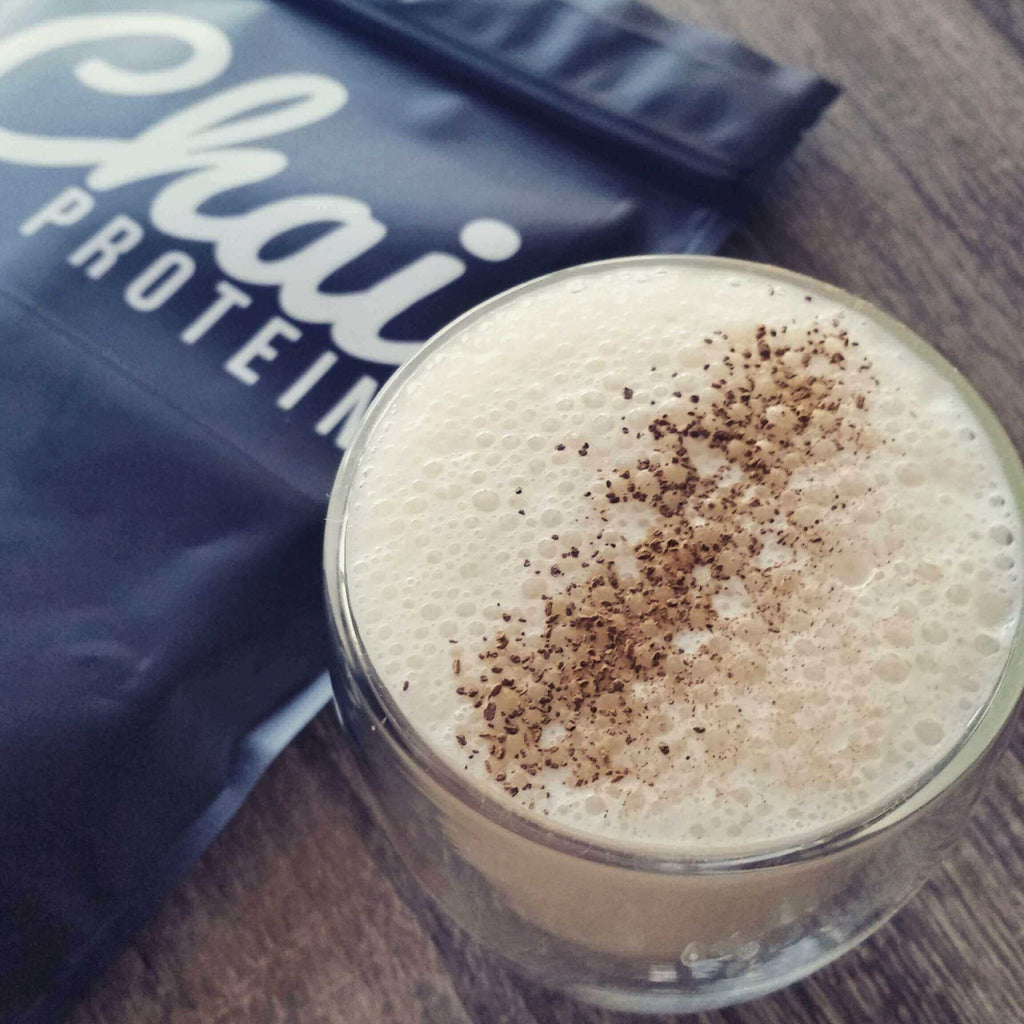 How To: Guilt Free Hot Chai Protein Latte