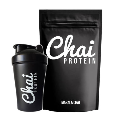 Masala Chai Protein + Shaker Pack