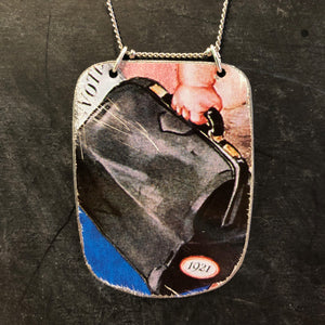 1921 Women's Voter Rights Tin Necklace