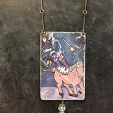 Juggling on Horseback Tin Necklace
