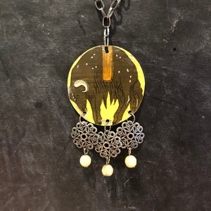 Fatted Calf Tin Necklace