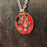 Single Tiger Necklace  Necklace