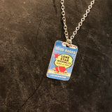 Lone Star Roofing Co Tin Necklace