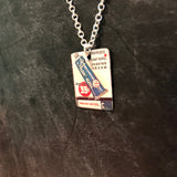 Shave Cream Tin Necklace