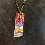 Piper Flying School Tin Necklace
