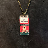 Toledo Valves Tin Necklace