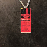 Federal Printing Co Tin Necklace