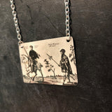 Kilted Men Tin Necklace