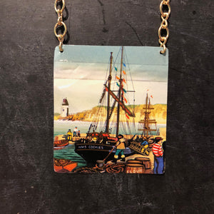 HMS Cookies Tin Necklace