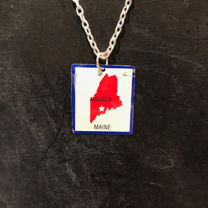 Maine Tin Necklace