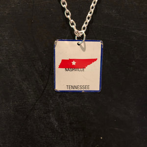 Tennessee Tin Necklace