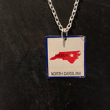 North Carolina Tin Necklace
