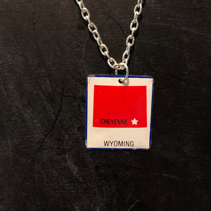 Wyoming Tin Necklace