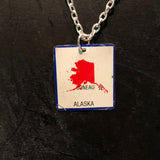 Alaska Tin Necklace